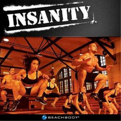 First Additional product image for - INSANITY-The INSANE Workout and Fitness Programme, HIIT, High Intensity, Interval Training, Home Workout, Weight Loss (As Seen On High Street TV)