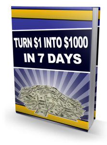 Turn $1 Into $1000 In 7 Days | eBooks | Business and Money