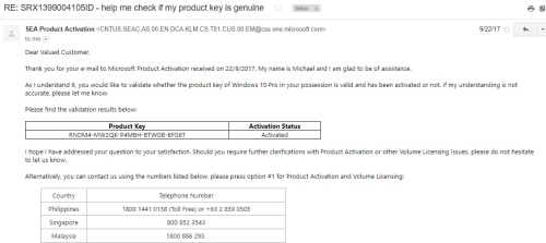 Second Additional product image for - Genuine Windows 10 Pro License Key - ORIGINAL ACTIVATION KEY