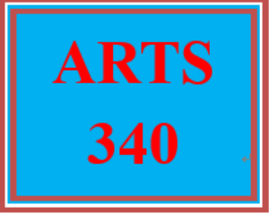 arts 340 week 4 program music comparison