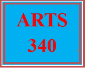 ARTS 340 Entire Course   eBooks   Education