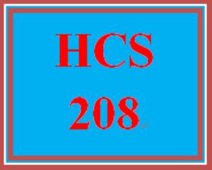 hcs 208 entire course