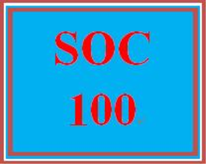 soc 100 week 5 social change presentation