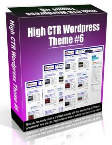 High CTR Wordpress Theme #6 | Software | Software Templates