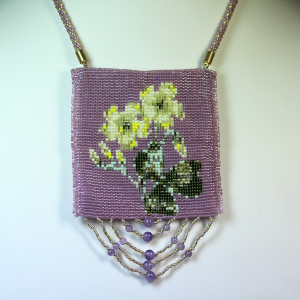 "pattern-amulet bag ""wood sorrel"""