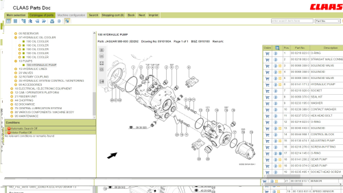 First Additional product image for - Claas Parts Doc Online with Parts Numbers !(web Link)