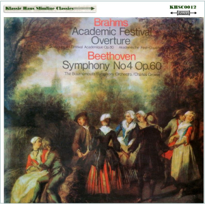 beethoven: symphony no. 4; brahms: academic festival overture - bournemouth so/sir charles groves