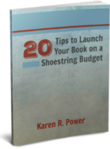20 tips to launch your book on a shoestring budget