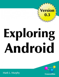 exploring android 0.3