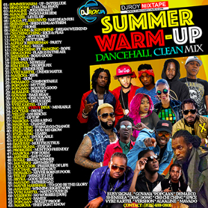 dj roy summer warm up dancehall clean mix