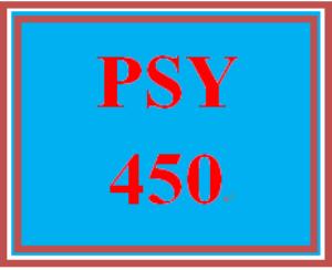 psy 450 week 5 organizational culture paper
