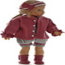 DollKnittingPattern 0191D ANE - Jacket, romper, hairband and shoes-(English) | Crafting | Knitting | Other