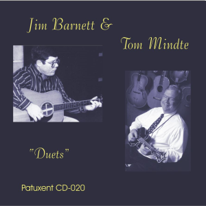 "patuxent cd-020 jim barnett & tom mindte ""duets"""