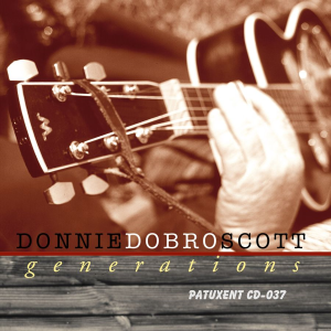 patuxent cd-037 donnie dobro scott - generations