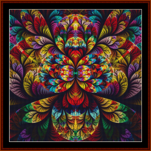 Fractal 685 cross stitch pattern by Cross Stitch Collectibles | Crafting | Cross-Stitch | Other