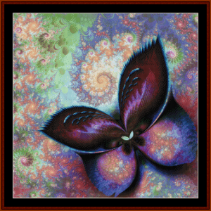 Fractal 686 cross stitch pattern by Cross Stitch Collectible | Crafting | Cross-Stitch | Other