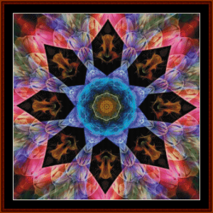 Fractal 688 cross stitch pattern by Cross Stitch Collectible | Crafting | Cross-Stitch | Other