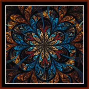 Fractal 689 cross stitch pattern by Cross Stitch Collectible | Crafting | Cross-Stitch | Other