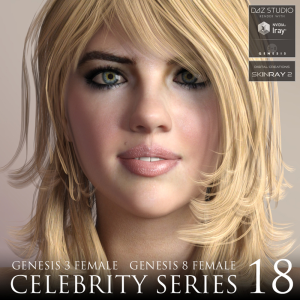 celebrity series 18 for genesis 3 and genesis 8 female