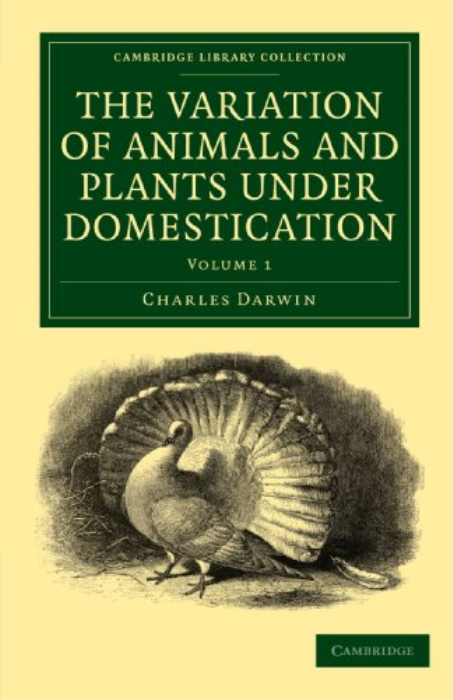 Second Additional product image for - The Variation of Animals and Plants under Domestication Volume I Charles Darwin