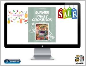 summer party cookbook - ebook - digital download