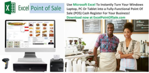 excel point of sale - single download license