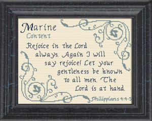 Name Blessings - Marine | Crafting | Cross-Stitch | Other