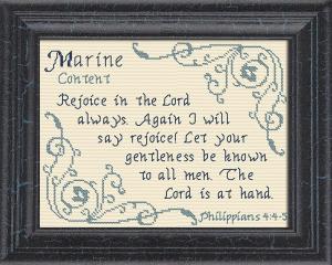 name blessings - marine