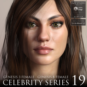 celebrity series 19 for genesis 3 and genesis 8 female