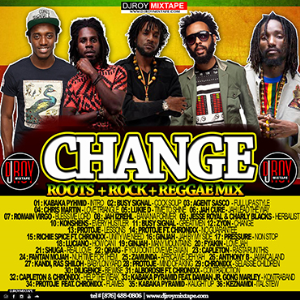 dj roy change roots,rock,reggae mix 2018