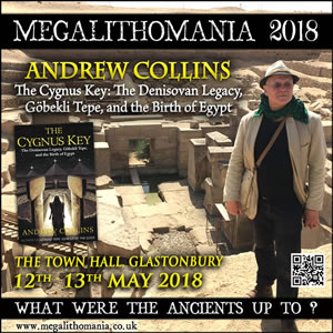2018 mega: andrew collins - the cygnus key: the denisovan legacy, göbekli tepe, and the birth of egypt