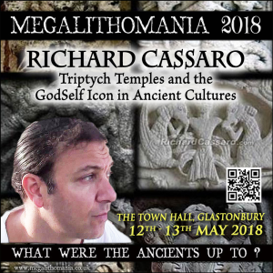mega 18: richard cassaro - lecture 1: triptych temples and the godself icon in ancient cultures