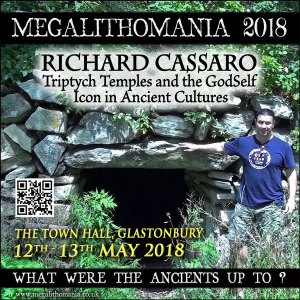 mega 18: richard cassaro - lecture 2: triptych temples and the godself icon in ancient cultures