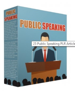25 public speaking plr articles 2018