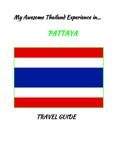 my awesome thailand experience in pattaya-travel guide