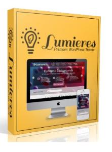 lumieres wordpress theme