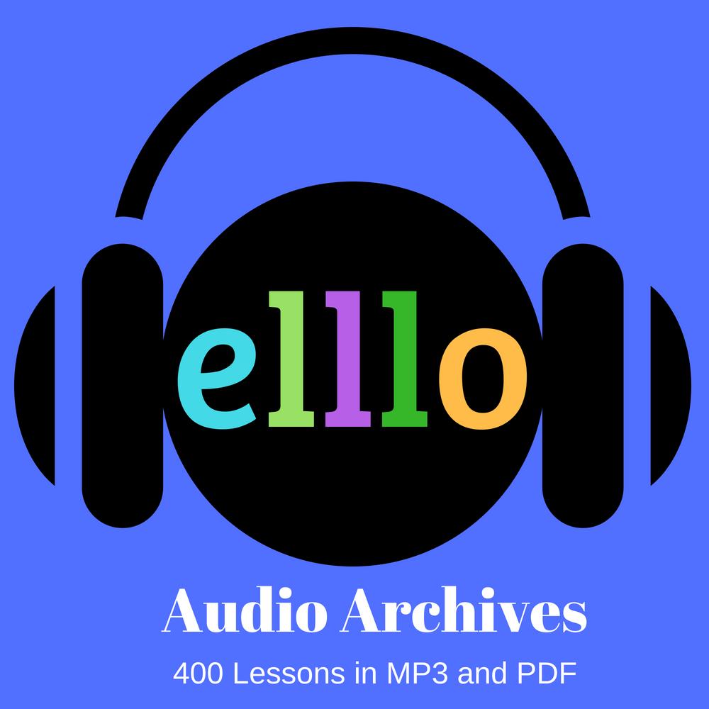 ELLLO Audio Archive