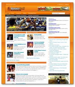 Basketball Niche Blog | Software | Design Templates