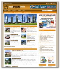Real Estate Niche Blog | Software | Design Templates