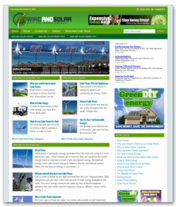wind and solar niche blog