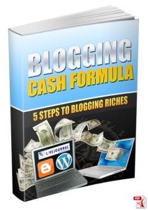 blogging cash formula