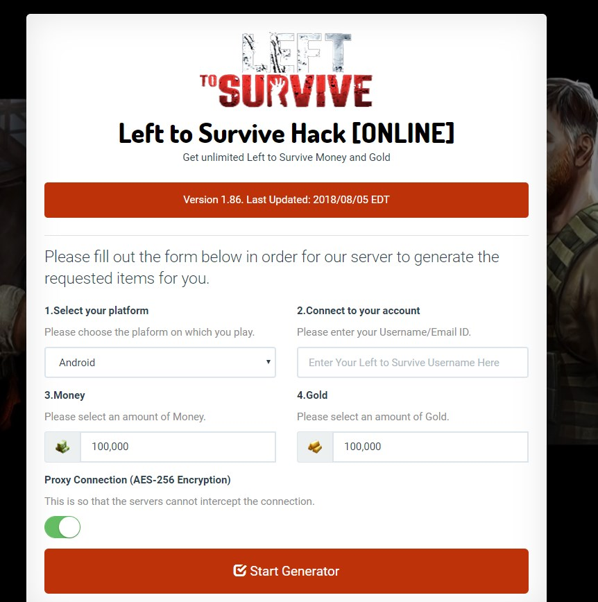 *No Survey* Left to Survive Hack Cheats For Android & iOS