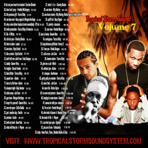 tropical storm soundsystem intl reggae street mix 7 (digital) 2009