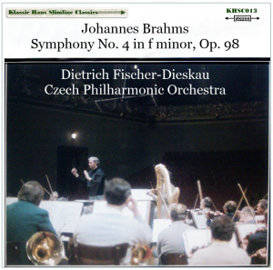 brahms: symphony no. 4 in f minor, op. 98 - czech philharmonic orchestra  conducted by dietrich fischer-dieskau