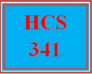 hcs 341 week 1 cengage exercise reflection
