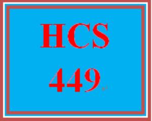 hcs 449 week 3 staffing matrix