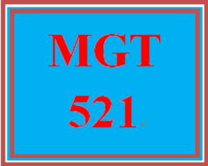 mgt 521 week 4 apply: leadership examination