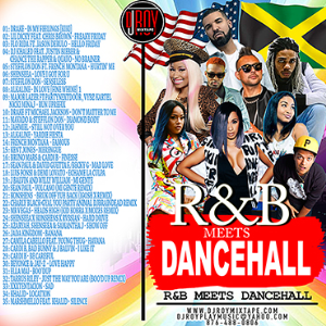 dj roy r&b meets dancehall mix [august 2018]