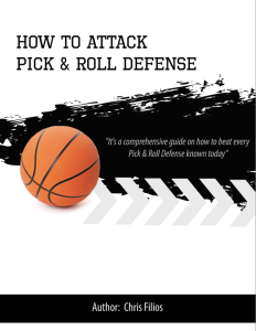 attacking pick & roll defense playbook