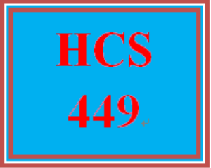 hcs 449 week 5 benchmark assignment—business plan presentation